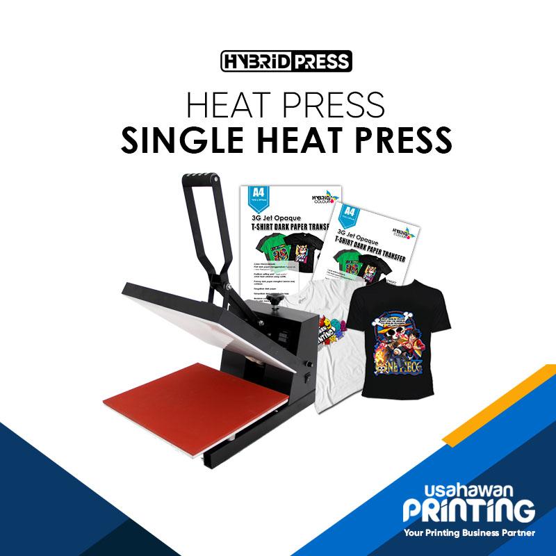 HEAT PRESS MACHINE/ MACHINE HEAT PRESS SINGLE (38 CM X 38 CM)