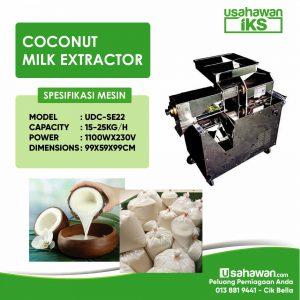COCONUT MILK EXTRACTOR / MESIN PEMERAH SANTAN UDC-SE22