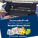 Program Kelas Printing Sticker (Online)